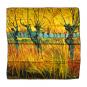 Seidentuch Vincent van Gogh »Weiden«. Bild 2