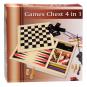 Spielekiste. Mikado, Domino, Schach, Dame. Bild 2