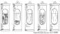»Sturmglas« mit Wandhalterung. Barometer in eleganter Geschenkbox. Bild 2