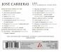 José Carreras. The Comeback Concerts. CD. Bild 2