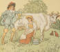 The Milkmaid. Randolph Caldecott's Picture Books. Bild 2