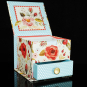 Memo Cube »Vintage Blooms«. Bild 2