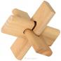 4er-Set mit 3-D-Holzpuzzles. Bild 3