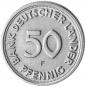 4er-Münzsatz 50 Pfennig - Prägejahr 1949 Bild 3