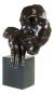 Bronzebüste »Der Schlafende«, Hommage an Salvador Dali. Bild 3