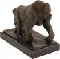 Bronzefigur Rembrandt Bugatti »Gorilla«. Bild 3