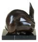 Bronzefigur Umberto Boccioni »Hase«. Bild 3