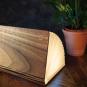 Buch als Lampe Holz, groß. Bild 3