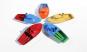 Kerzenboot mit Hütte, farblich gemischt. Bild 3