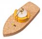 Korkschiff mit Teelicht »Dampfschiff«. Bild 3