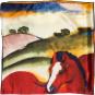 Seidentuch Franz Marc »Die roten Pferde«. Bild 3