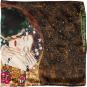 Seidentuch Gustav Klimt »Der Kuss II«. Bild 3