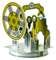 Kartonbausatz Stirling-Motor. Bild 3