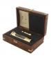 »Sturmglas« mit Wandhalterung. Barometer in eleganter Geschenkbox. Bild 3