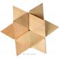 4er-Set mit 3-D-Holzpuzzles. Bild 4