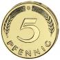 4er-Münzsatz 5 Pfennig - Prägejahr 1949 Bild 4