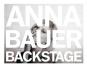 Anna Bauer. Backstage. Bild 4
