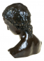 Bronzebüste Wilhelm Lehmbruck »Geneigter Frauenkopf«. Bild 4