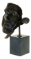 Bronzebüste »Der Schlafende«, Hommage an Salvador Dali. Bild 4