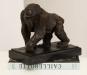 Bronzefigur Rembrandt Bugatti »Gorilla«. Bild 4