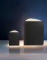 Buch als Lampe, klein, Leder-Edition. Bild 4