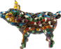 Buntes Mosaik-Schwein. Bild 4