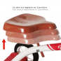 Dreirad »Vintage-Design«, rot. Bild 4