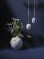 Porzellaneier »Clematis und Blütenblatt« im 2er-Set. Bild 4