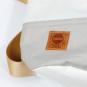 Segeltuch-Rucksacktasche »Ketsch Mini«, weiß-grau. Bild 4