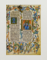 Unesco Memory of the World. Vier Faksimileblätter aus wertvollen Handschriften des Weltdokumentenerbes. Bild 4