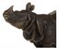 Bronzefigur Rembrandt Bugatti »Nashorn«. Bild 5