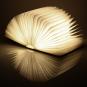 Buch als Lampe Holz, groß. Bild 5