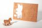 Holzpostkarten-Set »Frohe Weihnachten«. Bild 5