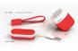 KAKKOii Pantone Micro Speaker Flame Scarlet. Bild 5