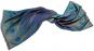 Wollschal »Pfauenfeder« blau. Bild 5