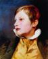 Josef Danhauser. Biedermeierzeit im Bild. Belvedere Werkverzeichnis. Bild 6