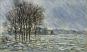 Lichtgestöber. Der Winter im Impressionismus. Bild 6