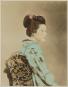 Zartrosa und Lichtblau. Japanische Fotografie der Meiji-Zeit (1868-1912). Bild 6