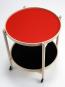Tray Table. Tablett-Tisch rot-schwarz. Bild 7