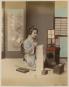 Zartrosa und Lichtblau. Japanische Fotografie der Meiji-Zeit (1868-1912). Bild 7