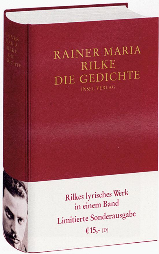 Rainer Maria Rilke Die Gedichte Jetzt Online Bestellen
